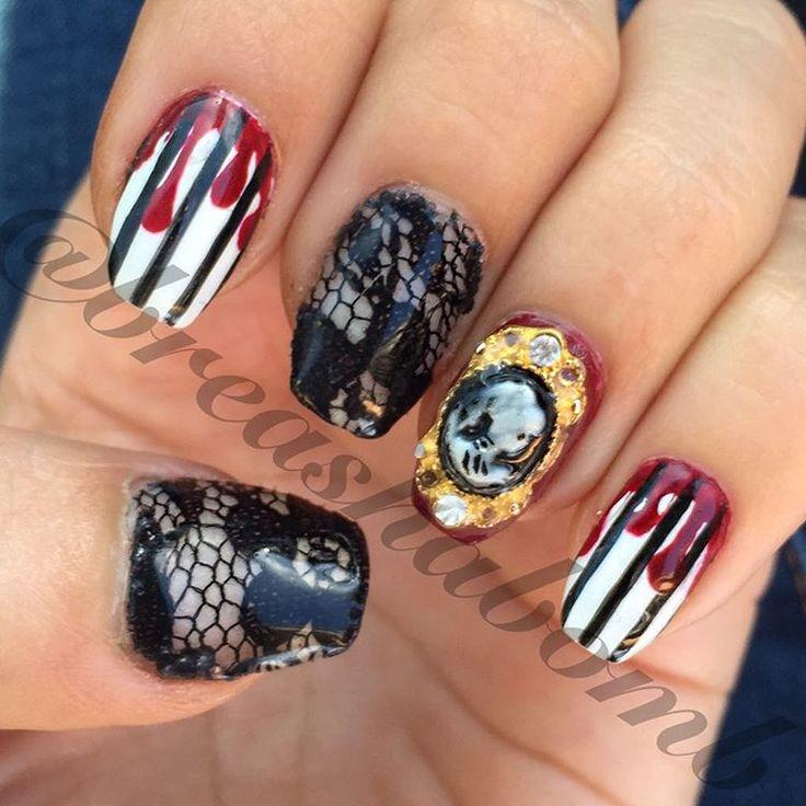 """nailsbybreasha auf Instagram: """"Der 1. Oktober und die Halloween-Nägel haben schon …   – Nails"""