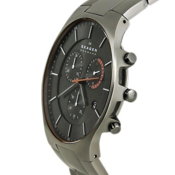 Relógio Skagen Masculino Ref  Skw6076 1pn Slim Titânio - Relógios Web Shop bfe5466700