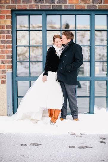 Happy 2nd Anniversary to Jem and Peter Lohmann.  (Photo via Allie Lehman - Columbus, Ohio)