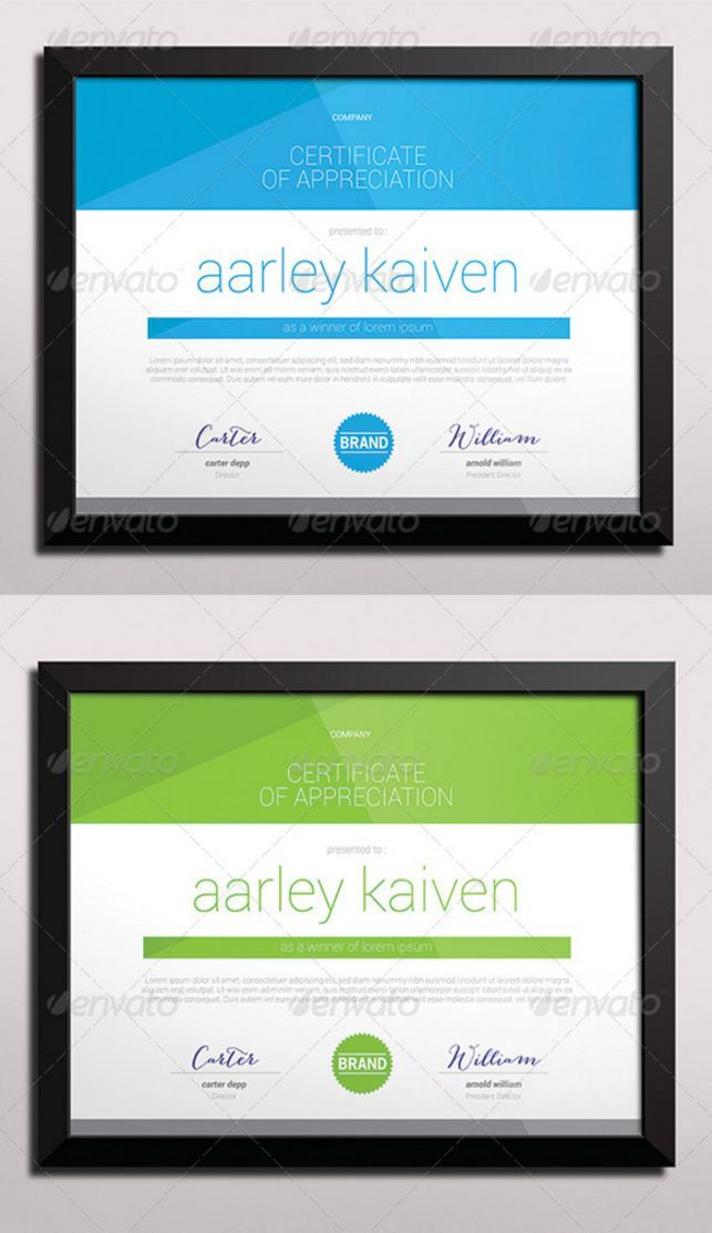 21 Awesome Certificate Templates in PSD MS Word Vector EPS Formats - Designsmag.org