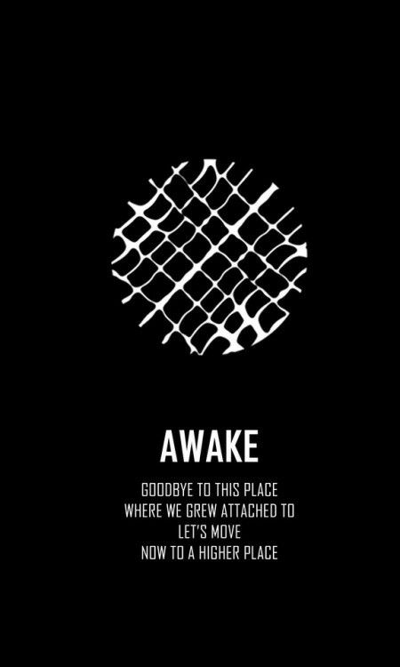 Bts wings short film logo awake wallpaper