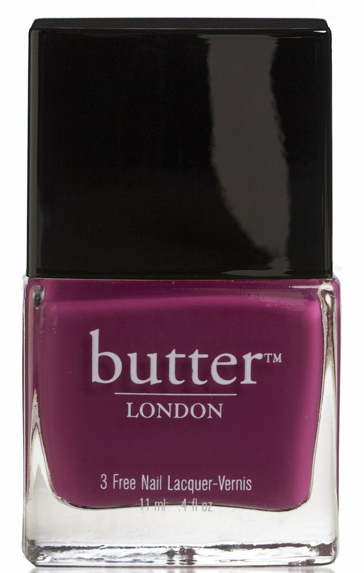 Cranberry Nail Polish – Queen Vic : butter LONDON, #rocktheyear #butterlondon
