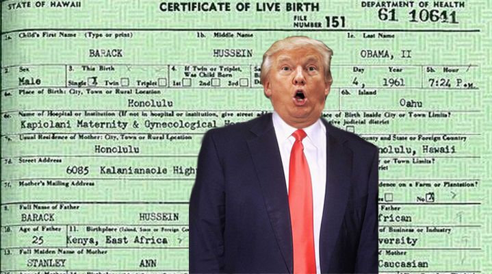 Barack Obama's long form birth certificate a tweet from President Donald Trump that warranted an official response. Here it is.