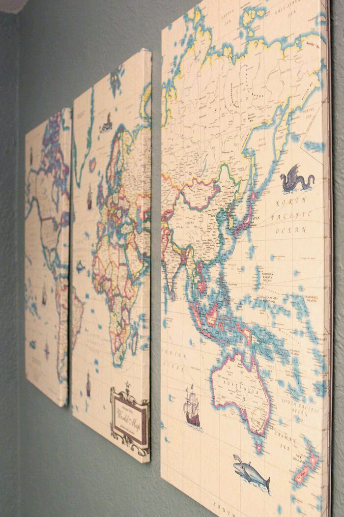 1262 best Crafty ideas - Map-a-holic images on Pinterest Maps - copy world map autocad download