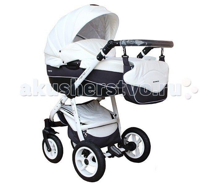 Коляска Riko Nano 2 в 1  Коляска Riko Nano 2 в 1 - элегантная коляска с неповторимым дизайном для детей от рождения до 3-х лет. Многофункциональная транспортная система Riko Nano 2 в 1, обеспечивающая комфорт и безопасность на прогулках с Вашим ребенком. Детская универсальная коляска изготовлена с использованием высококачественных легких дышащих текстильных материалов, имеет небольшой вес и отличную маневренность на дороге.  Люлька Riko: Просторная пластиковая люлька Обивка и матрасик…