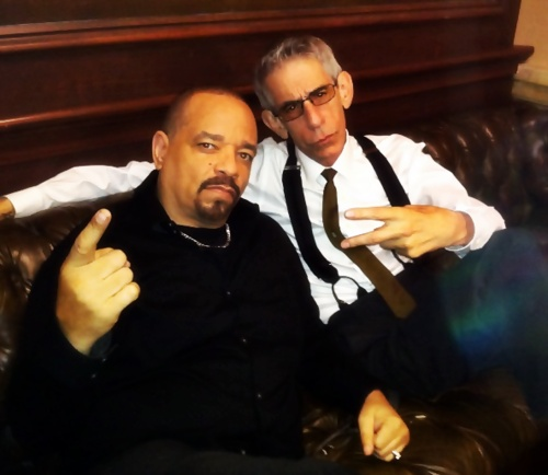 Nice pic! Ice T and Richard Belzer. They're so funny! (: