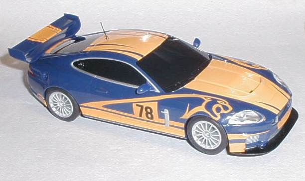 Scalextric car Jaguar XKR GT3