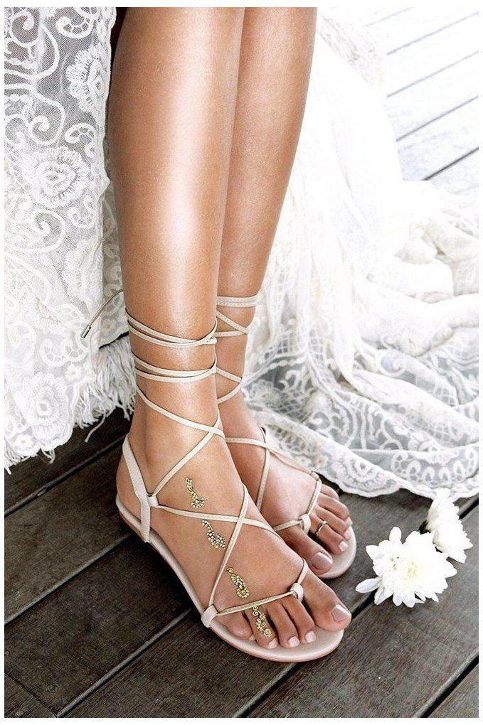 30 Wedding Sandals You Ll Want To Wear Again Boho Wedding Shoes Flats Bohoweddingshoesfl Wedding Sandals Wedding Shoes Flats Sandals Beach Wedding Sandals
