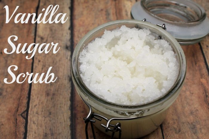 Vanilla Sugar Scrub Recipe with Printable Labels | The Divine Miss Mommy