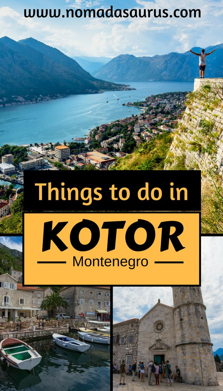 Kotor is a beautiful town located in Montenegro. Add Kotor to your list of place to visit in Eastern Europe. Even add Kotor to your list of places to visit in Montenegro. We have made a list for you of things to do in Kotor.