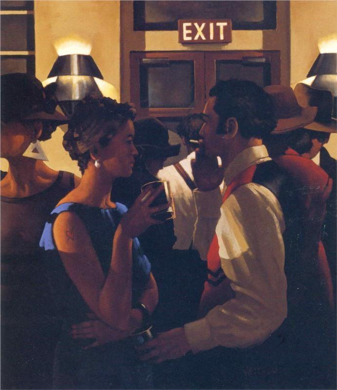 jack vettriano | Jack Vettriano Paintings & Artwork Gallery in Chronological Order