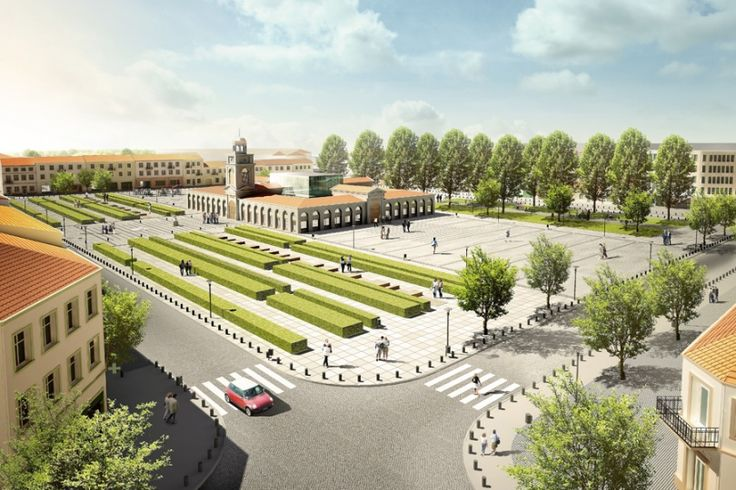 Competition project of Town hall in Zdunska Wola #architecture #render http://goo.gl/vrO9aL