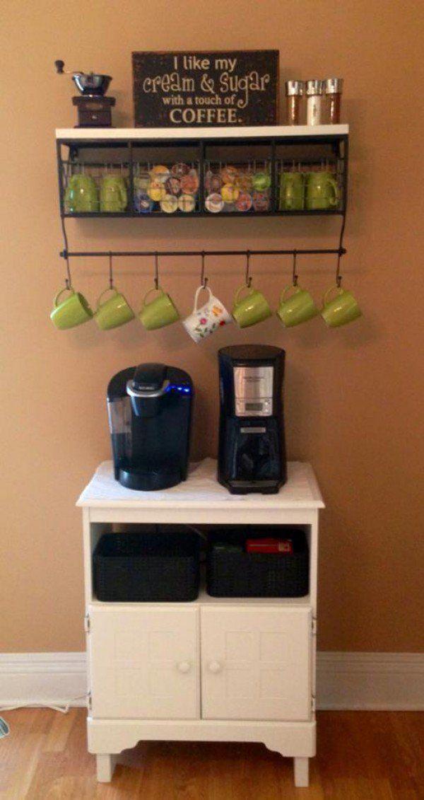 Best Cantinho Do Café Images On Pinterest Coffe Bar Coffee - Best coffee mug organization ideas
