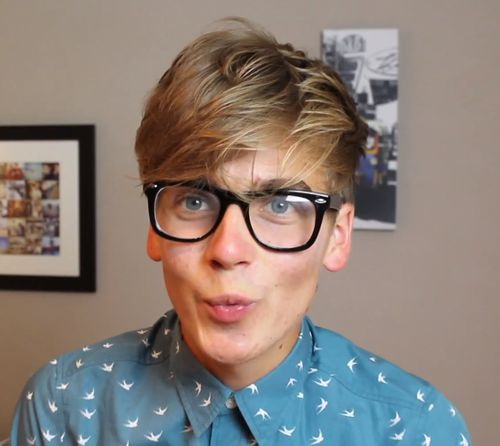 Tyler Oak… ehm… Joe Sugg. << his impressions were scary good