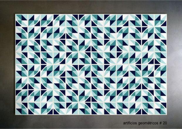 Athos Bulcão - artificios geometricos 20