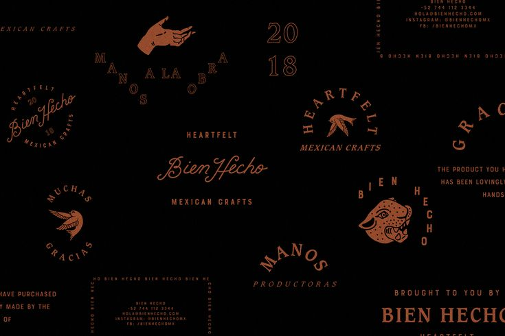 Bien Hecho Mexican Crafts on Behance