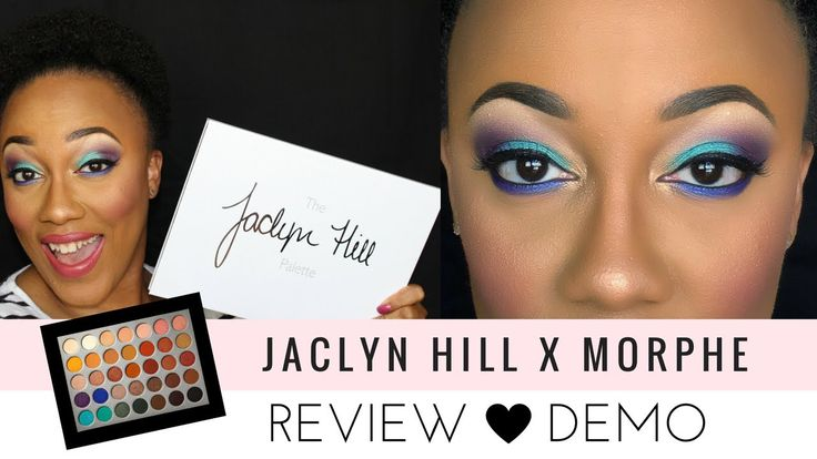 Jaclyn Hill Morphe Palette Review and Tutorial + Swatches