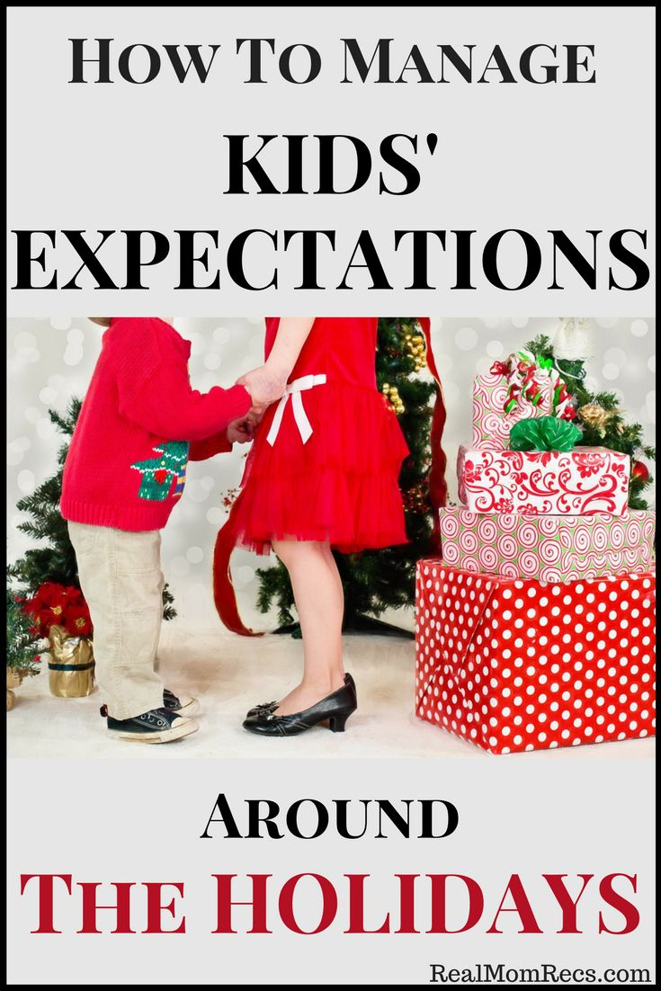 Are your kids are dreaming about swimming in a sea of toys on Christmas morning? Read my tips on how to manage your kids' expectations around the holidays.