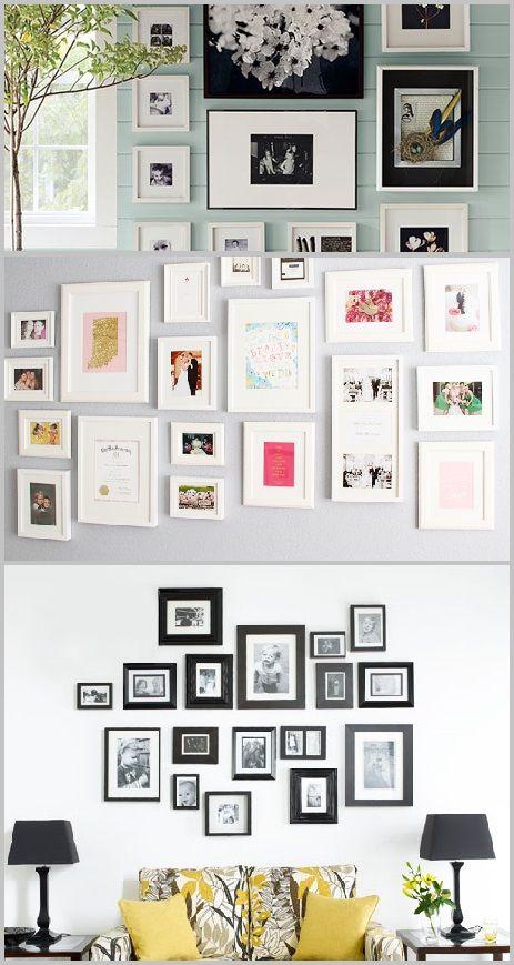 DIY - zelf een fotomuur maken in 4 stappen