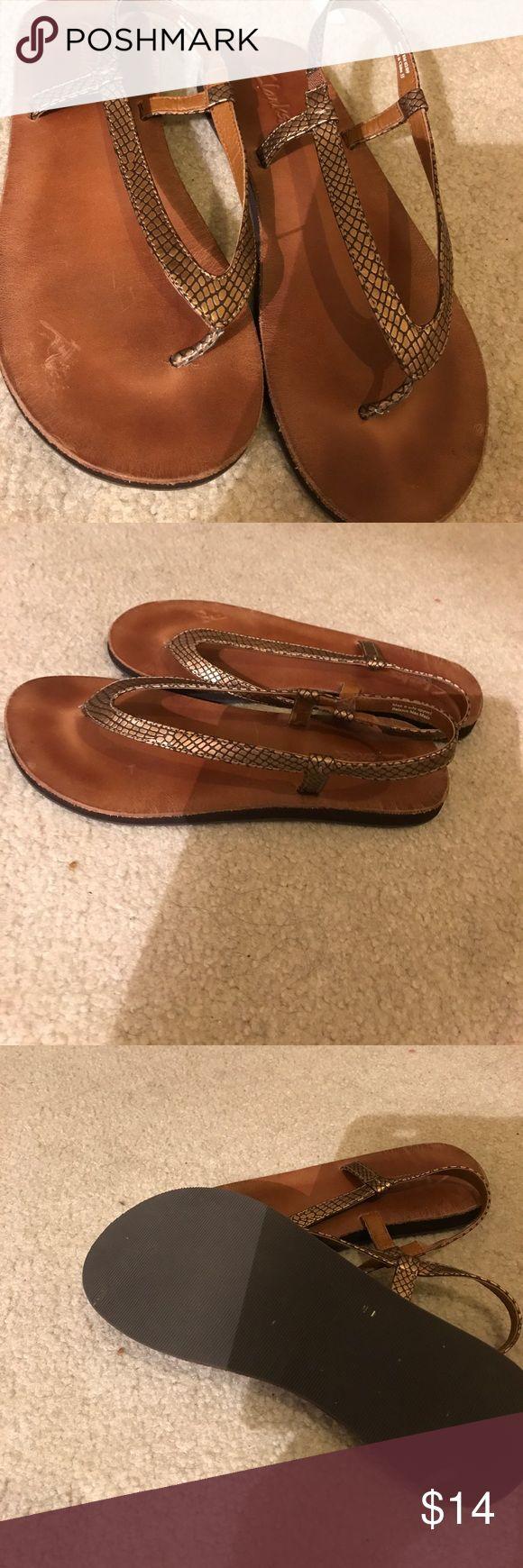 Clarks sandals Clarks womens  sandals  brown size 8 Clarks Shoes Sandals