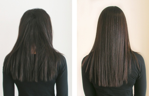 #yuko #hair #straightening #beforeandafter