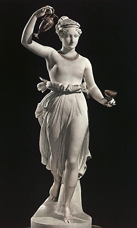 Canova: Ebe: Canova Sara, Sculpture, Beaux Art, Art Sculpture, Classic Art, San Domenico, Museums Canova, Hebe Museums, Antonio Canova
