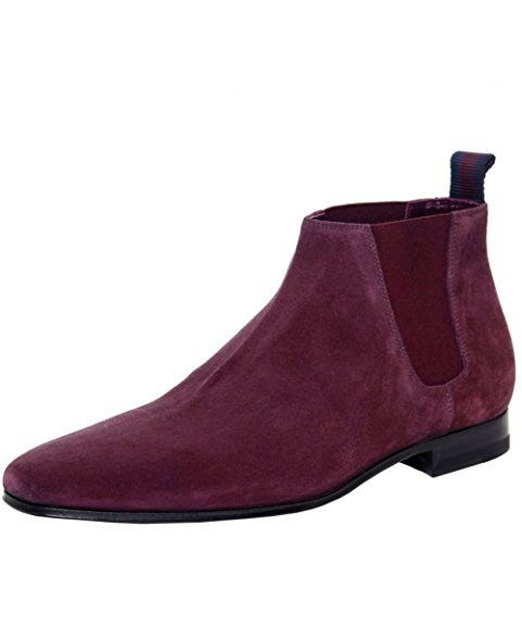 Gobi Suede, Bottines à Doublure Homme - Violet - Purple (Marron), 44 EU (10 UK)Redtape