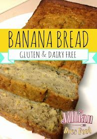 Jillian Does Food: Moist, Gluten and Dairy Free Banana Bread