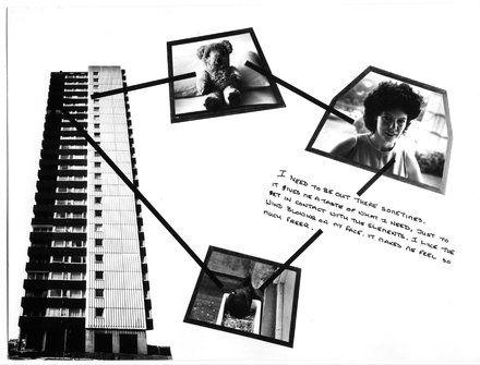 Stephen Willats, Brentford Towers (1985)