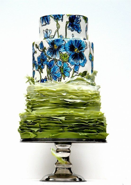 My inspiration of elegant cake designs, Maggie Austin. maggieaustin.com