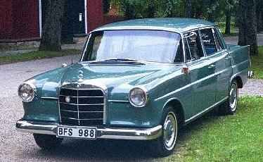 As you can see on Riad Solh sq picture, there was some of Mercedes Taxi-cabs called the Mercedes ''Fintail''. They were used in the 60's, 70's & 80's before they got replaced by the Mercedes 200-230 atch(due to its boxy shape)
