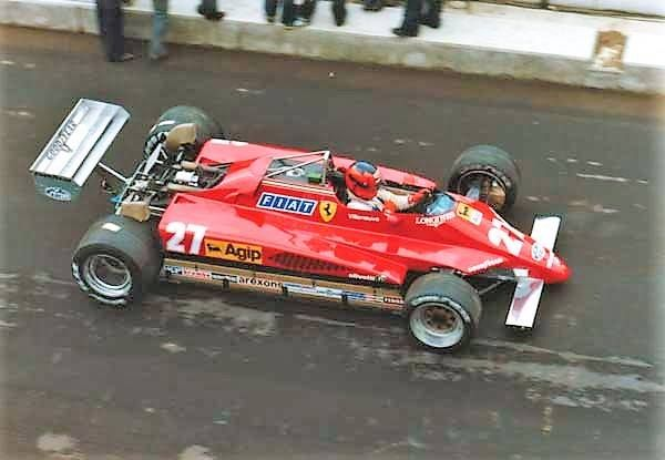Zolder, Gilles exits the pits for the last time