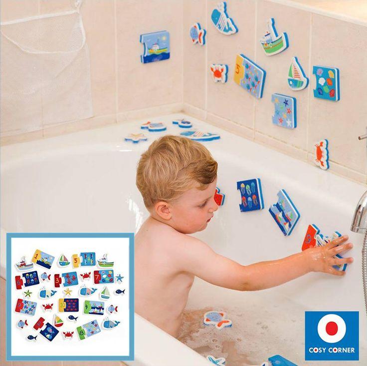 41 παιχνίδια μπάνιου που κάνουν την ώρα του μπάνιου, ώρα διασκέδασης! Τα σχέδια κολλάνε στα πλακάκια του μπάνιου όταν βραχούν. Πλεούμενα. https://goo.gl/Uca3pw