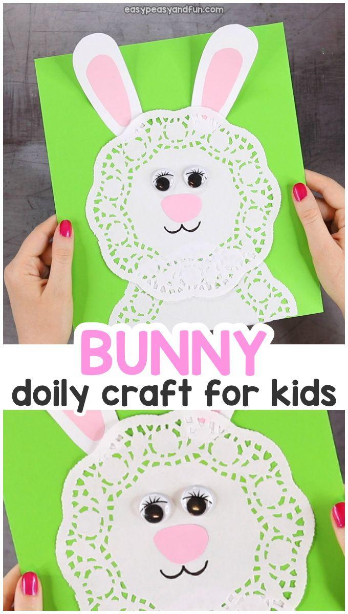 Doily Bunny Craft Crazycharizma Teaching Resources Sight Words