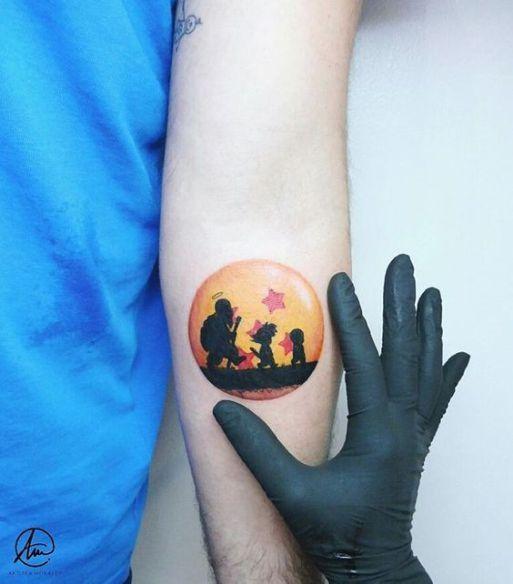 Top 10 Tatuagens De Dragon Ball Dbz Tattoos Gaming Tattoo Z Tattoo