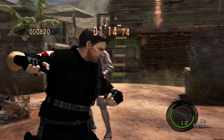 Umbrella Characters Pack / Screen 005 / Mods for Resident Evil 5(RE5) / Characters - Chris S.T.A.R.S