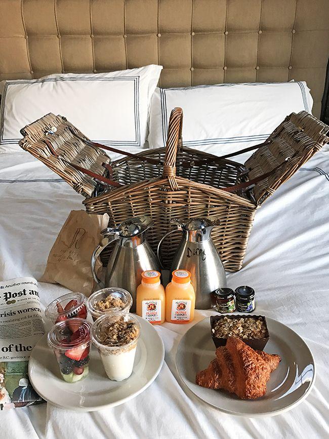 Picnic Breakfast at the Restoration Hotel