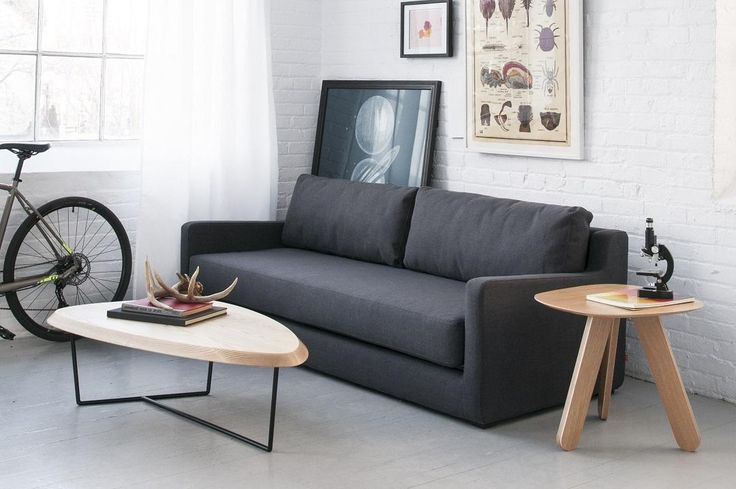 Gus* Flip Sofabed in Ink Upholstery #globewest #furniture #sofabed #gus