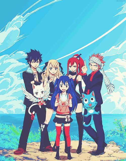 17 Best images about Fairy Tail : Nalu, Gruvia, Gale ...
