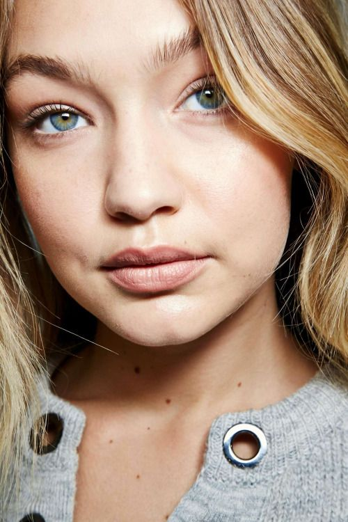 Gigi has inspired us to try the no makeup trend. | Best of Beauty | Fashion, Gigi Hadid, Beauty lookbook