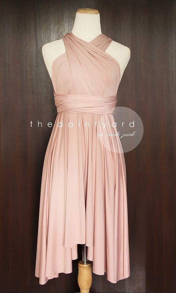 17 Best ideas about Dusty Pink Dresses on Pinterest | Pink dresses ...