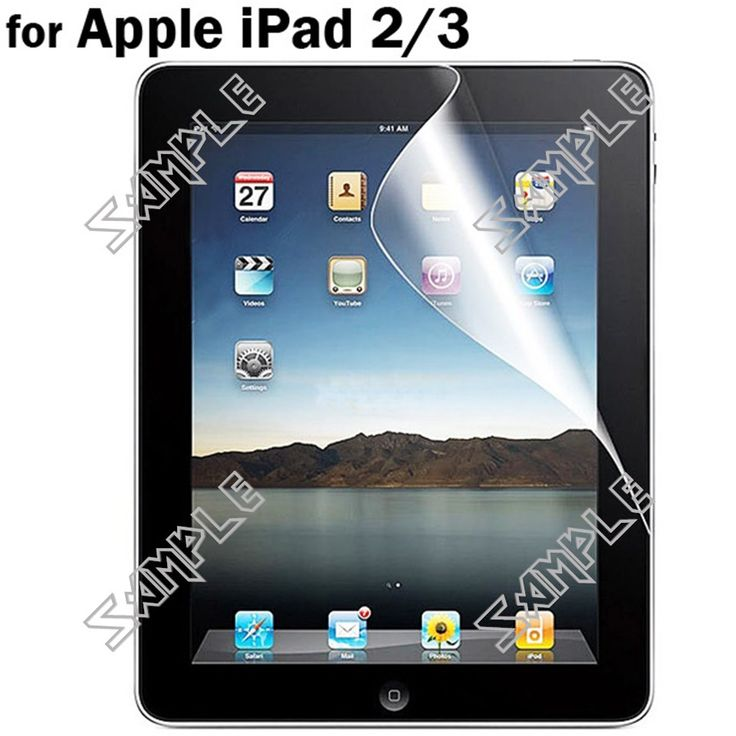 Anti-glare Frosted Matte Front & Rear Skin Screen Protector Film Sticker Cover for Apple iPad 2/3