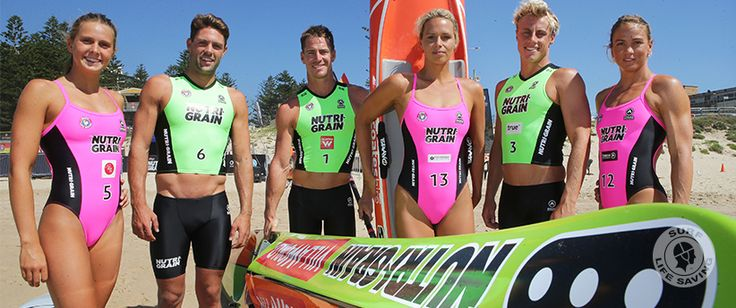 Stage and surf set for Nutri-Grain IronMan and IronWoman Finals Series