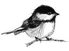 chickadee tattoo designs - Google Search