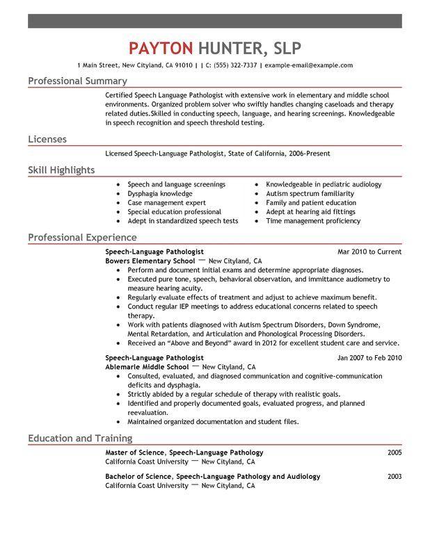 resume objective graduate school