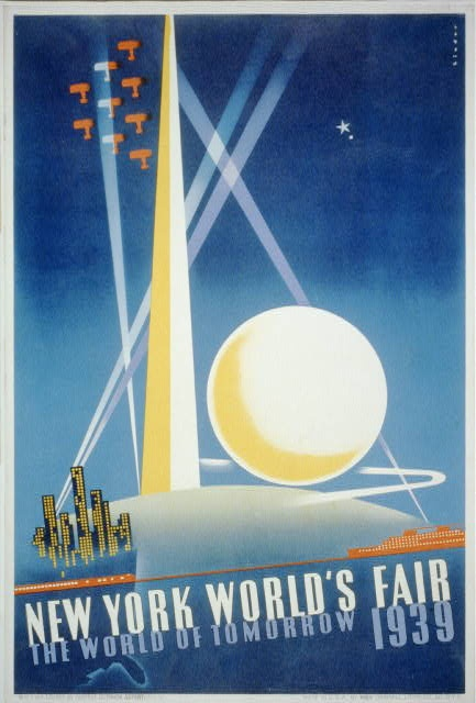 New York World's fair, the world of tomorrow, 1939 / Binder