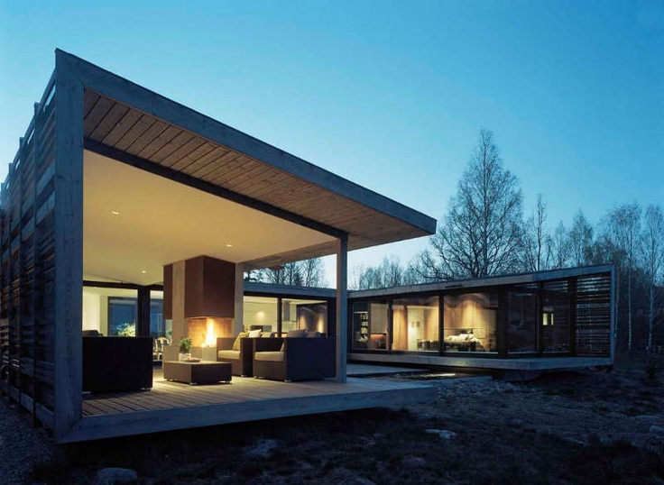 48 best U shaped Houses images on Pinterest | Architecture, House ...