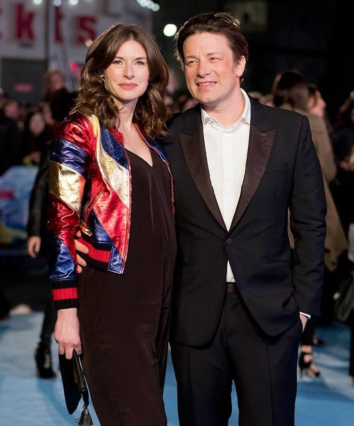 Jamie Oliver & wife Jools