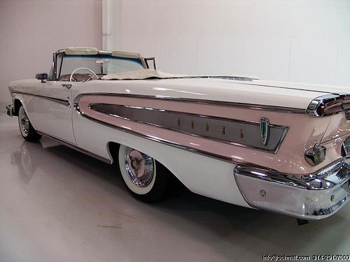 Car / Auto - Ford Edsel Citation (The Year- 1958), Classic Automobile