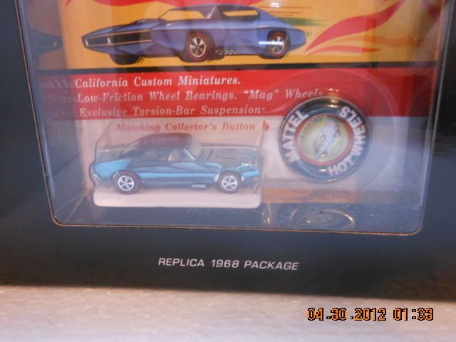 2013 Hot Wheels RLC Original 16 Custom Camaro Redline ...